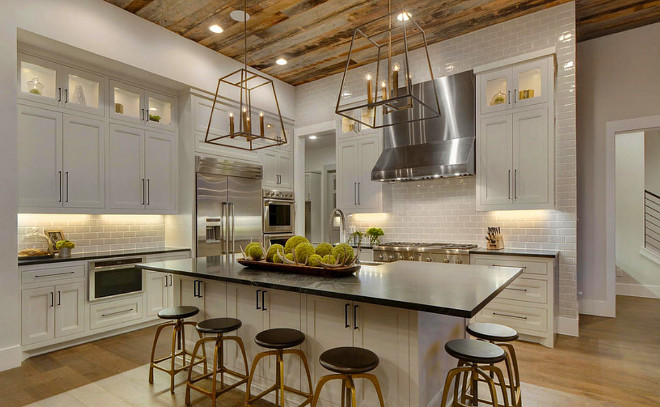 Beautiful White Kitchens - House of Hargrove on Beautiful Kitchen  id=91729