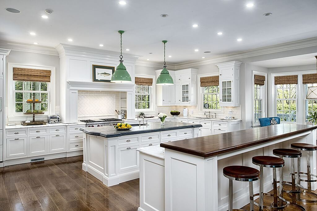 Beautiful White Kitchens - House of Hargrove on Beautiful Kitchen  id=41413