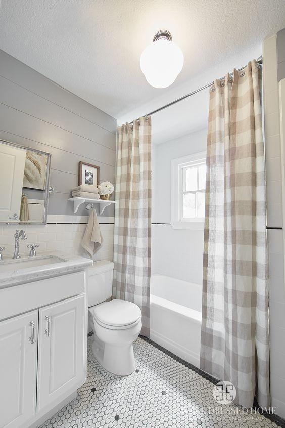 Farmhouse Bathrooms - House of Hargrove on Farmhouse Shower Ideas  id=22785
