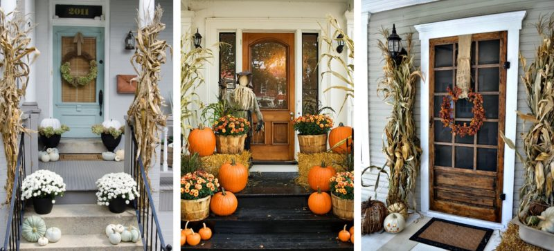 Fall Front Porches House Of Hargrove