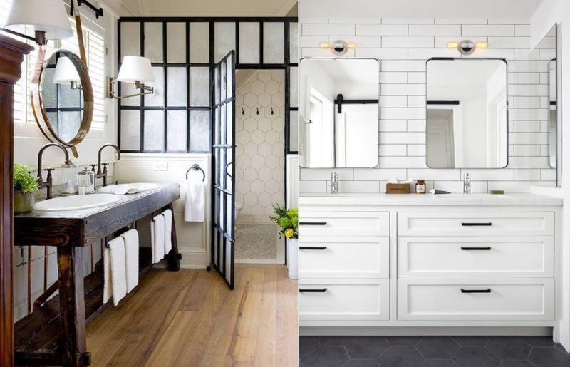 Modern Farmhouse Bathrooms - House of Hargrove on Modern Farmhouse Shower  id=92536