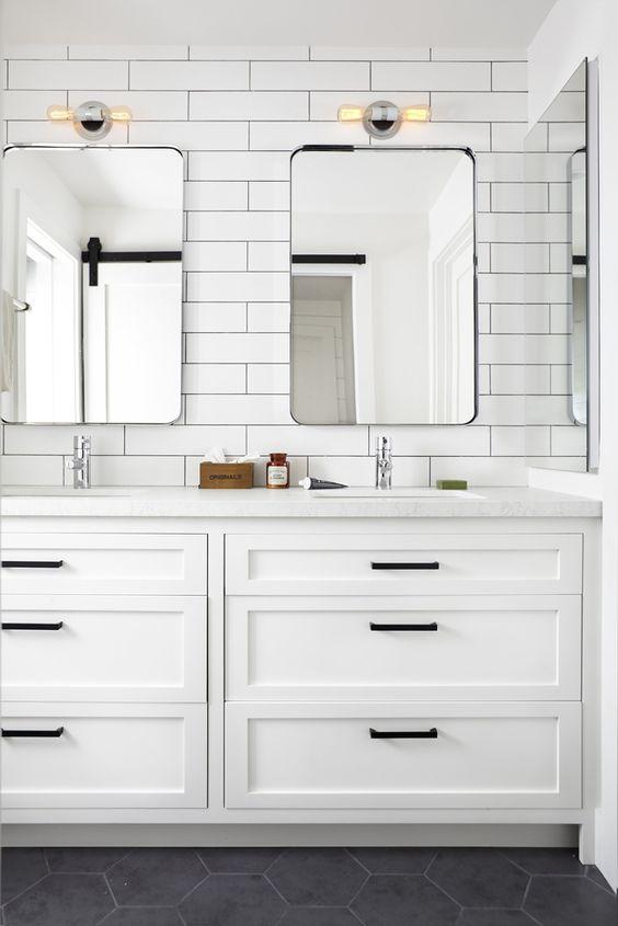 Modern Farmhouse Bathrooms - House of Hargrove on Bathroom Ideas Modern Farmhouse  id=91150