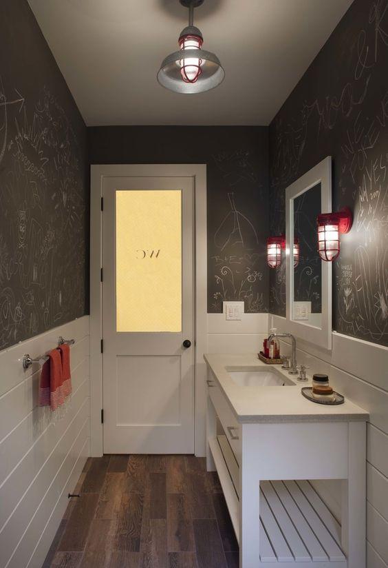 Modern Farmhouse Bathrooms - House of Hargrove on Modern Farmhouse Bathroom  id=78205