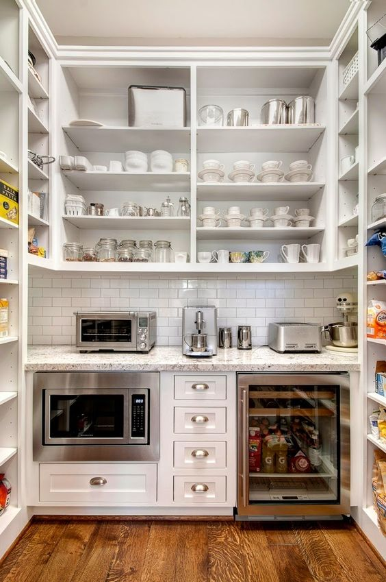 The Most Beautiful Pantries Amp Butlers Pantries Full Of