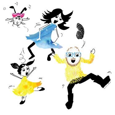 Illustration: Dancing with Joy