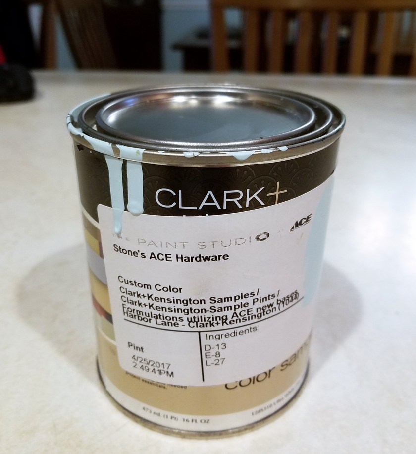 Harbor Lane Paint sample from Clark + Kensington