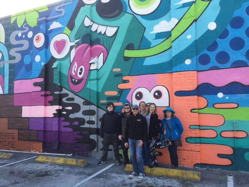 St Pete mural tour