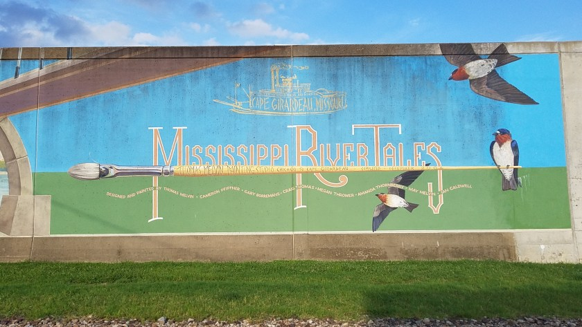 Mural in Cape Girardeau from HouseofIngrams.com