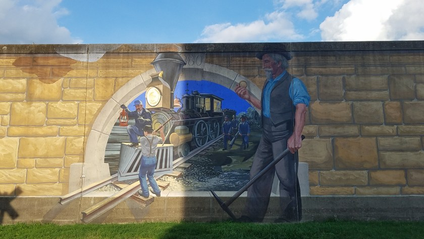 Railroad Mural from HouseofIngrams.com