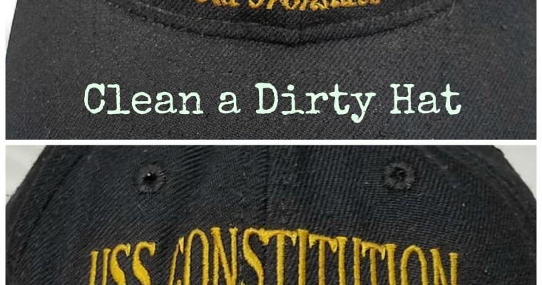 Clean a Baseball Cap