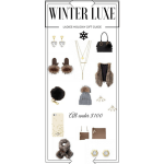 Winter LUXE Ladies Holiday Gift Guide