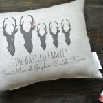 personalized-deer-family-pillow-christmas-etsy
