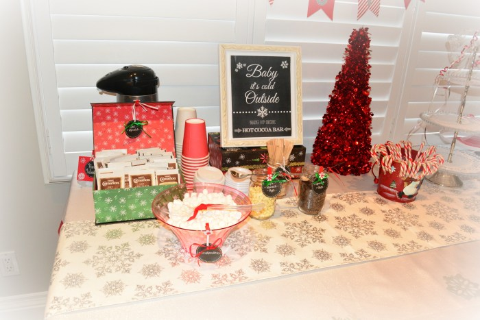 hot cocoa bar how to free printables