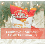 Family Movie Nights + A Review of Orville Redenbacher's Caramel & White Cheddar Popcorn