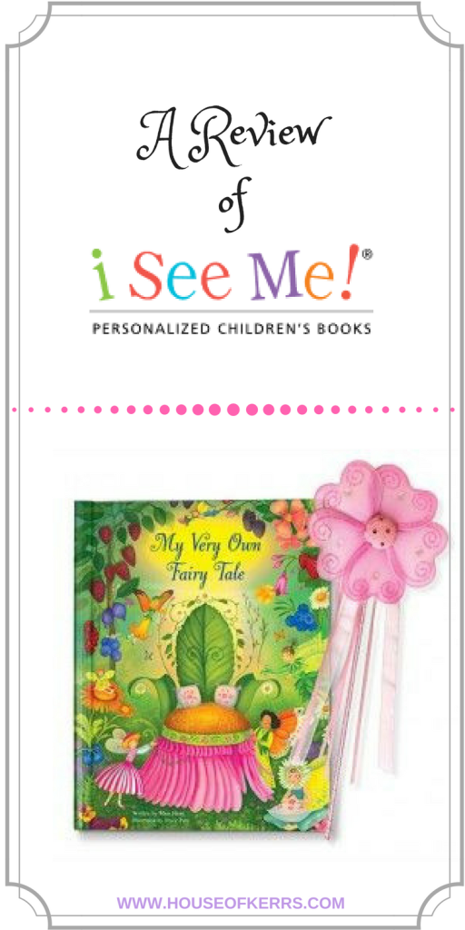 Review of I See Me! Personalized Children's Books With Spring Giveaway