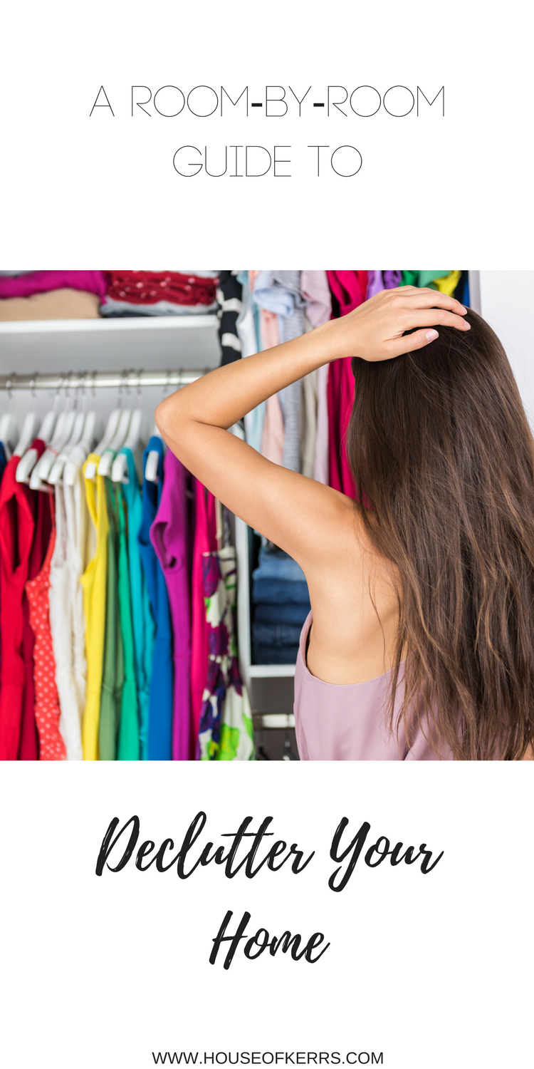 HOUSEOFKERRS.COM, a room by room guide to declutter your home, Spring cleaning, Organize your life, clothing consignment canada, sell your kids preloved goods, GTA consignment stores, where to donate goods, responsible disposal of goods, eco-friendly decluttering