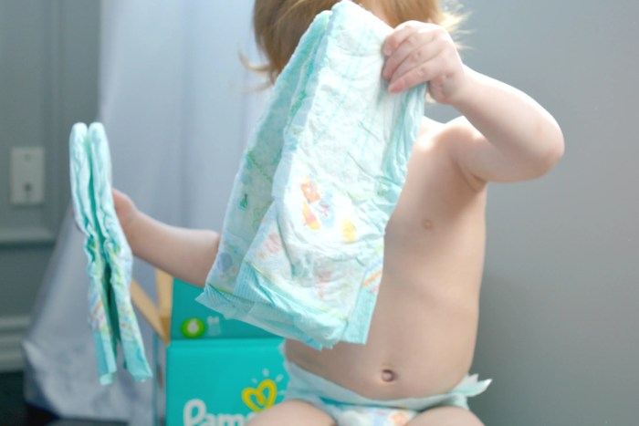 Review of the NEW Pampers Baby Dry
