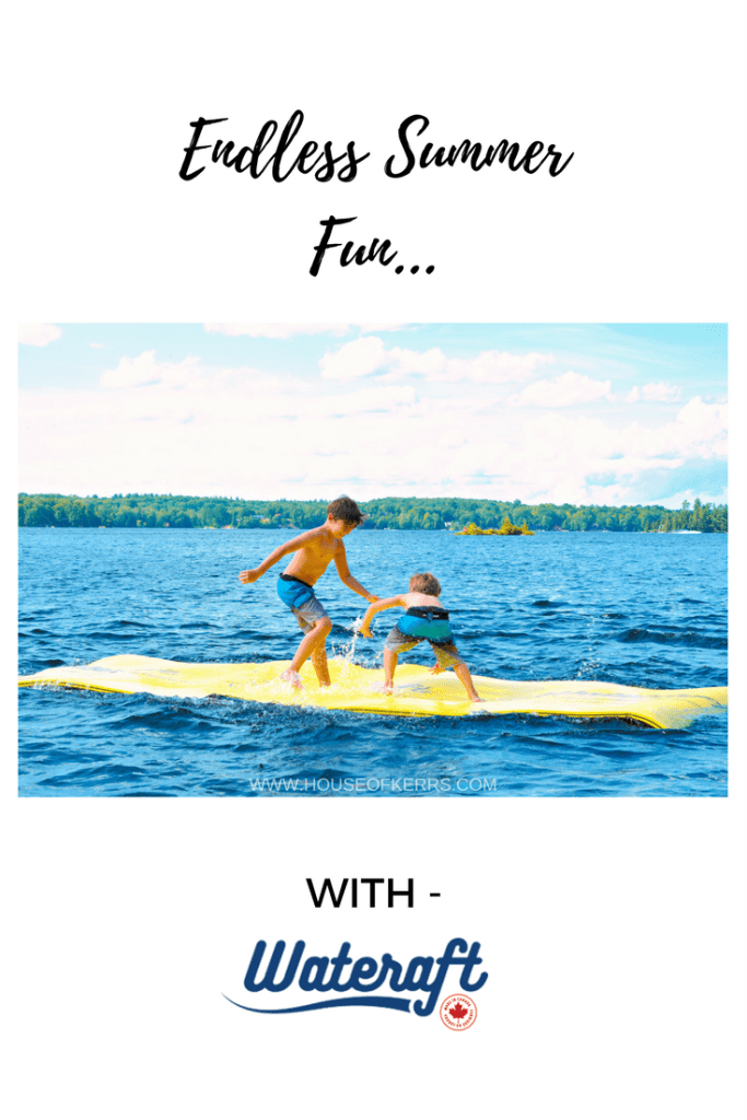 Wateraft Canada | Review of the Junior Wateraft | Floating water mat for the Beach and Cottage |