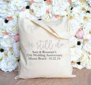 Vow Renewal | Personalized Beach Tote