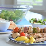 Greek Turkey Kebabs | Turkey Farmers of Ontario #MakesItSuper | House of Kerrs | Summer BBQ Ideas |