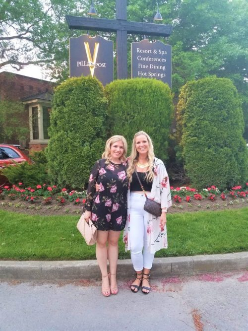 The Cannery Restaurant Pillar and Post Vintage Hotels NOTL Girlfriends Getaway Mom Retreat