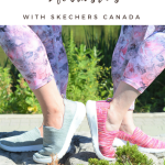 Mom Twinning + Life Transitions with Skechers Canada