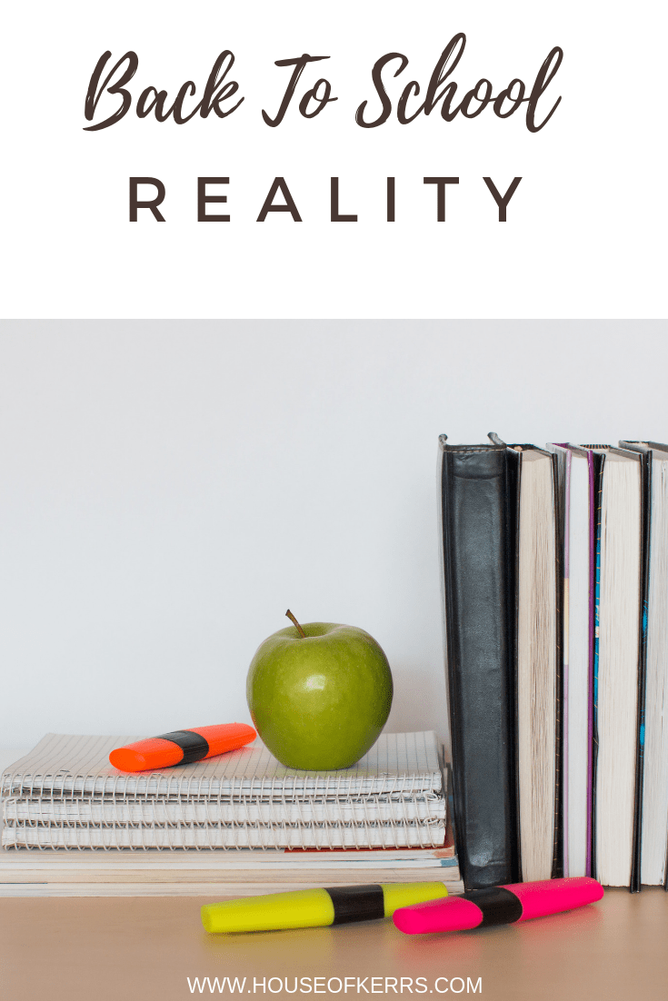 Back to School Mom Truths | Wellness for Moms | Advice for Moms on Managing the School Year | Self Care for Moms