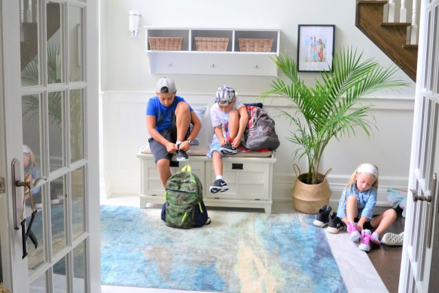 Front Entryway Reveal + Giveaway with Wayfair.ca | Modern Home Decor