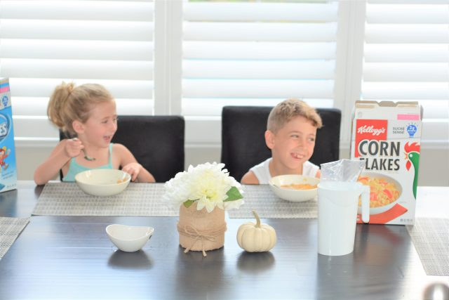 Breakfast Made Better with Kellog's Sugar Wise (TM) Cereals | Mindful Eating | Family Wellness | Quick Breakfast Ideas | Family Nutrition