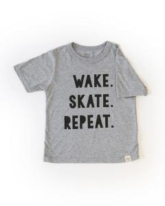 Little Ice Tribe Canada Wake Skate Repeat Tshirt