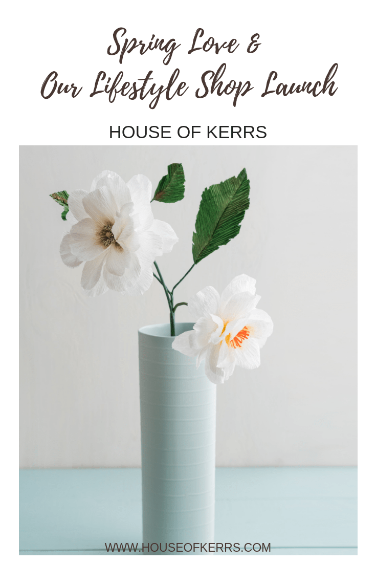 Spring Love GIVEAWAY | House of Kerrs Family Lifestyle Boutique Launch