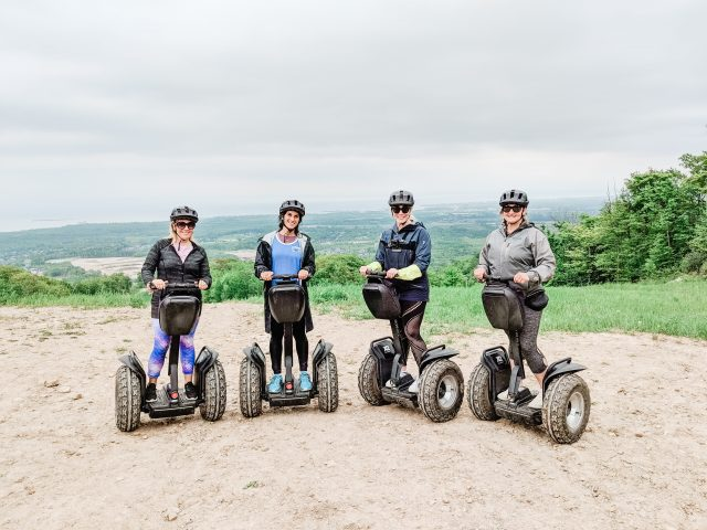 Moms on Segways | Mountain Top Segway Tours Blue Mountain | Best activities at Blue
