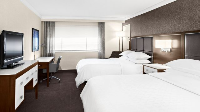 Two Queen bed Suite Sheraton Laval