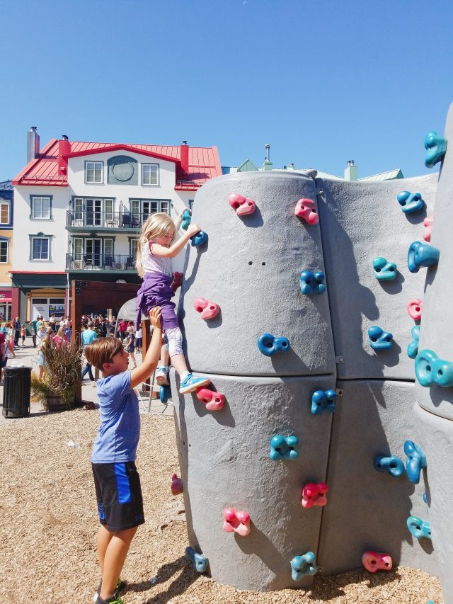 free kids park activity tremblant