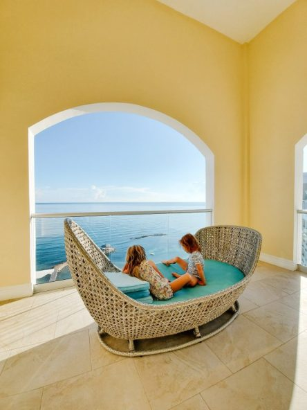 Jewel Grande penthouse views of Caribbean Sea