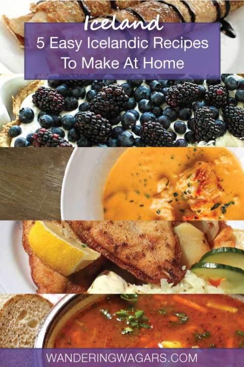Easy Icelandic Recipes