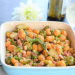 Gnocchi with Veg and ham recipe