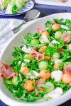 prosciutto melon antipasto salad