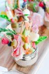 Spring Love Jarcuterie Board | HouseofKerrs.com | Simple Appetizers | Charcuterie