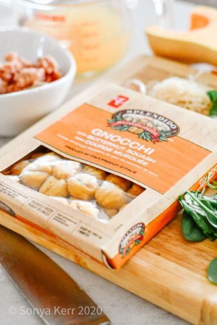 Butternut Squash Turkey Sausage One-Pan Gnocchi | President's Choice Splendido
