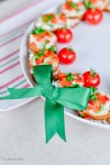 Holiday Wreath Appetizer Recipe | La Cucina di Kerrs | Edible Centerpieces