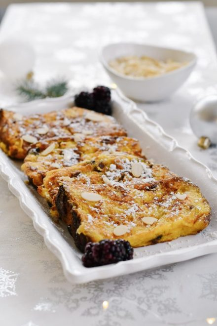 Panettone French Toast Recipe.HouseofKerrs.com