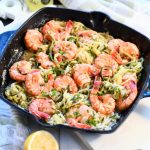 Lemon Garlic Shrimp Zoodles Recipe