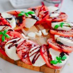 La Cucina di Kerrs shares another way to enjoy a family favourite - Caprese LOVE Salad D'amore Recipe | HouseofKerrs.com