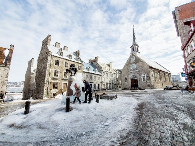 Place-Royale Old Quebec City family travel