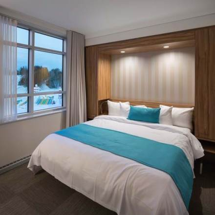 Family Suite with Mountain View at Valcartier Hotel