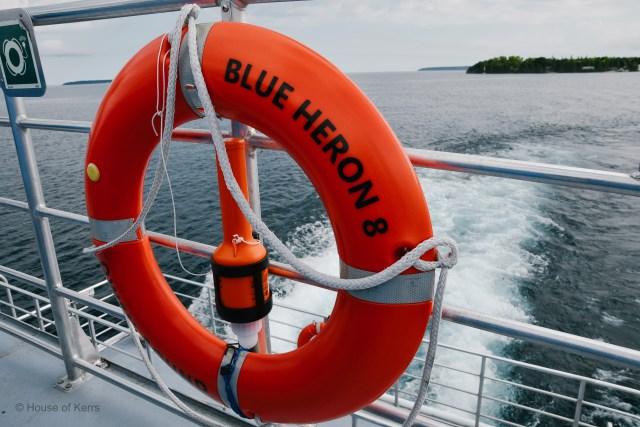 Blue Heron Boat Cruise Tobermory, Ontario