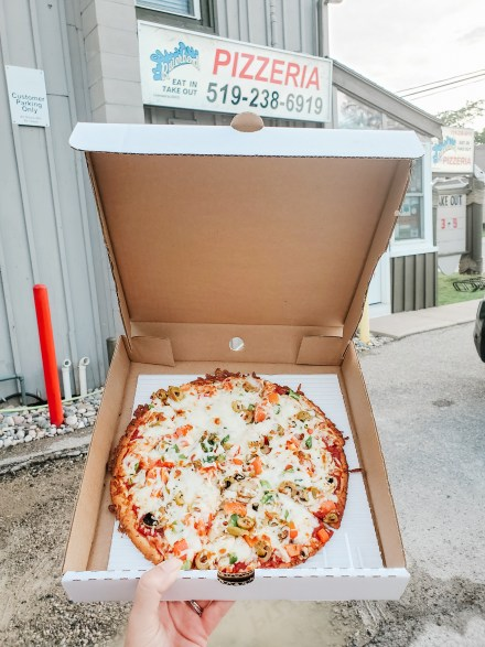 Where to Eat Grand Bend Ontario - Riverbend Pizza