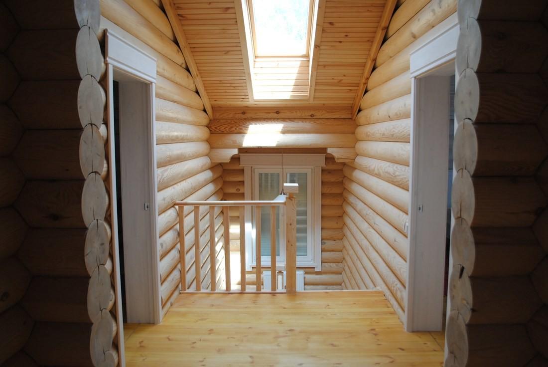 сглобяема дървена къща от  трупи