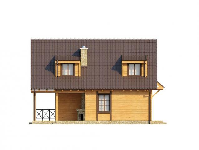 сглобяема къща от греди